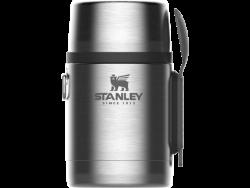 Stanley Adventure Stainless Steel Vacuum Food Jar With Spork 530ML Staineless Steel