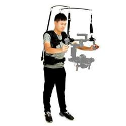 Brand New Laing V10 Professional 3AXIS Gimbal Support Vest Stabilizer SYSTEM 2.5-8KG Bearing Vest For Electrical Stabilizer D Ji