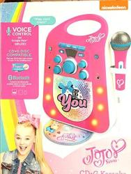 Jojo Siwa Cd G Karaoke Machine With One Wired Microphone