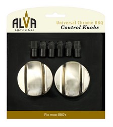 Alva Universal Knob Set - Chrome