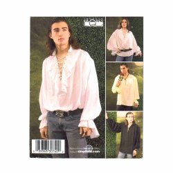 Simplicity Sewing Pattern 3758 Misses Men And Teen Costumes A Xs-s-m-l-xl