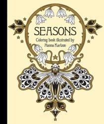 Seasons Coloring Book Paperback