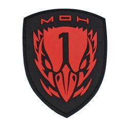 Morton Home Medal Of Honor Blackbird 3D Pvc Patch Red