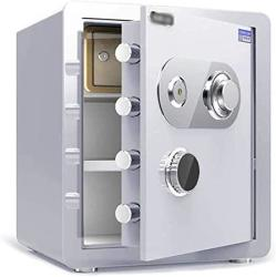 USA Wangjunxiu Safes Household Small Mechanical Combination Lock Safe Anti-drilling Fireproof Safe Steel Lock Bolt No Battery Required 4 Styles Safe Box S
