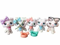 Judylovelps Lps White Collie Custom Ooak Collie Ice Cream 059 023 032 084 Rare Figures Collectable Kids Gift
