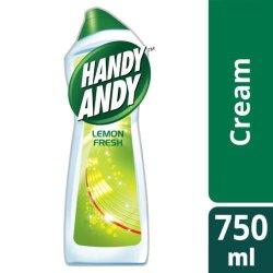 Handy Andy Household Cleaning Cream Lemon 750ML