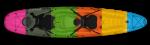 Kayaks Fluid Synergy Angler Kayak - Blue