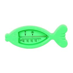 Sizet 2 Packs Baby Bathing Thermometer Cute Fish-shape Infant Bath Toy Water Temperature Gauge For Kids Safety Bath