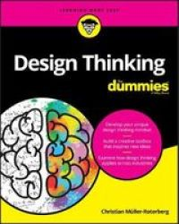 Design Thinking For Dummies Paperback