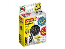 Quercetti Pixel Peg Refills Art Set 1000 Piece Black