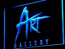 ADV PRO I950-B Art Gallery Shop Display Advertising Light Sign