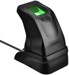 Ashata USB Fingerprint Reader USB Fingerprint Sensor Optical Fingerprint Scanner MINI Biometric Fingerprint Reader Fingerprint Reader For Computer P