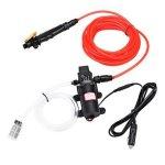 100W 1.0MPA 12 24V High Electric Pressure Car Washer Wash Pump Water Sprayer Kit Voltage: 24V
