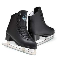 Glacier By Jackson GS253 Boys Ice Skates Black Recreational Level Figure Skating