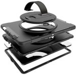 """Tuff-Luv Armour Case Stand with Hand and Shoulder Strap for iPad Pro 11"""" 2018 in Black"""