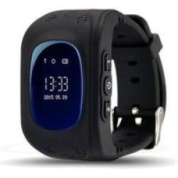 Polaroid Corp. Polaroid PMOJI3 Kids Gps Smartwatch Black
