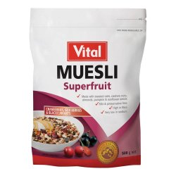 Vital Superfruit Select Muesli 500G