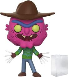 USA Rick And Morty - Scary Terry Funko Pop Vinyl Figure Includes Compatible Pop Box Protector Case