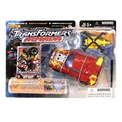 Hasbro Transformers Robots In Disguise Armada Powerlinx Red Variant Hot Shot With Minicon Jolt Action Figure Set By Transformers
