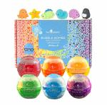 Two Sisters Spa Squishy Bubble Bath Bombs For Kids With With Surprise Squishy Toys For Boys And Girls By . Set Of 6 Large