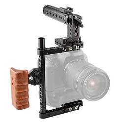 Camvate Camera Cage For Canon 600D 70D 80D Mount With Battery Grip 197MM  Side Pipe | R | Electronics | PriceCheck SA