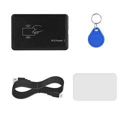 Rfid Card Reader Lanmu USB Rfid Card Reader Rfid Card Reader 8125KHZ Contactless Proximity Sensor Smart Id Card Reader EM4100 With Rfid Card