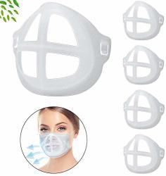 Bracket For Mask Inner Support Frame For Comfortable Mask Wearing Face Inner Support Frame Create More Breathing Space For Lipstick Protector & Easy To