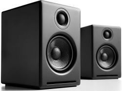 Audioengine A2 Plus 60W Powered Desktop Speakers Built In 24BIT Dac And Analog Amplifier Black