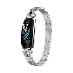Fitness Tracker Waterproof Smart Watch With Heart Rate Monitor Slim Activity Tracker Watch Pedometer Sleep Monitor Calorie Counter Smart Band For
