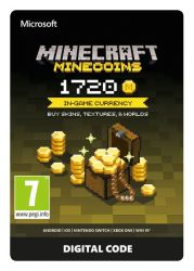 Microsoft Minecraft 1720 Minecoins Esd Za Digital Code