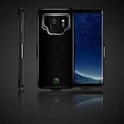 Ocamo Portable High Capacity External Charging Case 7000MAH Extended Battery Protective Case For Samsung Galaxy S9 S9PLUS Black