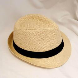 Fedora Hat Holiday - Black