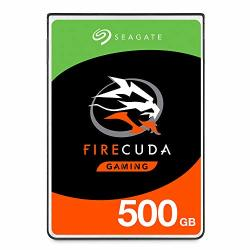 Seagate Firecuda 500GB Solid State Hybrid Drive Performance Sshd - 2.5 Inch Sata 6GB S Flash Accelerated For Gaming PC Laptop -