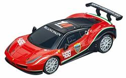 Carrera 64136 Ferrari 488 GT3 Af Corse 488 Go Analog Slot Car Racing Vehicle 1:43 Scale