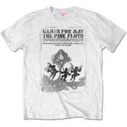 Pink Floyd - Games For May B&w Unisex T-Shirt - White Medium
