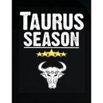 Taurus Season Zodiac Star Signs Horoscope - Sticker