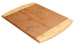 Summit By White Mountain 2-TONE Premium Wooden Bamboo Cutting Board By Summit