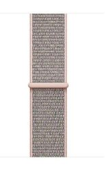 Nylon Strap For 42 44MM Apple Watch S m l - Pink Sand