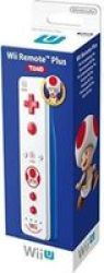 Nintendo Remote Plus - Toad White For Wii & Wii-u