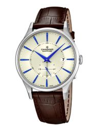 Candino Swiss Made Mens Leather Watch - Gents Classic Timeless