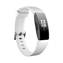 Fitbit Inspire Hr Fitness Tracker - Black White