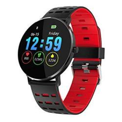 Arayacy Fitness Tracker - Touch Big Screen Activity Fitness Watch And Pedometer Pedometer With Heart Rate Monitor - Calorie Counter - Notification I