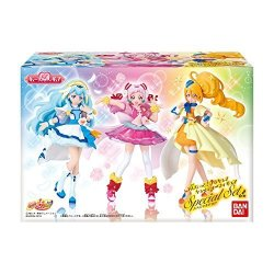 Hugtto Precure Cutie Figure Special Set: Cure Yell Cure Ange Cure Etoile Shokugan gum Set Of 3 Figures