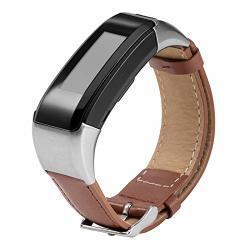 Compatible Garmin Vivosmart Hr+ Bands Women Men Stylish Replacement Leather Bands Straps Bracelet Band Wristbands Accessories For Garmin V Vosmart Hr Plus Approach X40 Approach