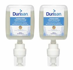 Durisan Antimicrobial Hand Soap Kidney Refill 1000 Ml - 2 Pack