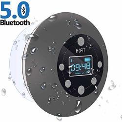 Shower Radio Bluetooth Speaker 5.0 Hott Waterproof Wireless Bathroom Music With Suction Cup Fm Microphone Hands-free Calling 10