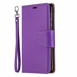 Cover for Samsung Galaxy S8 Leather Wallet Cover Extra-Shockproof Business Kickstand Card Holders with Free Waterproof-Bag Samsung Galaxy S8 Flip Case