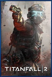 """POSTER STOP ONLINE Titanfall 2 - Framed Gaming Poster Print Jack Size: 24"""" X 36"""" By"""
