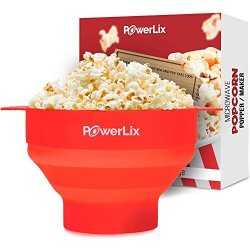 40/°C to 230/°C Microwave Popcorn Popper Magic Microwave Silicone Popcorn Maker Container Collapsible Popcorn Bowl Temperature Resistance