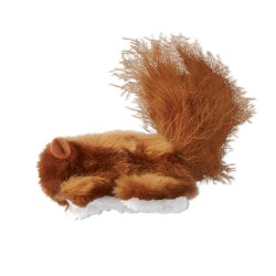 Kong - Refillable Squirrel Cat Toy - Brown